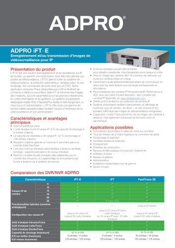 ADPRO iFT-E Crib