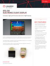 EFD-750 ELECTRONIC FLIGHT DISPLAY