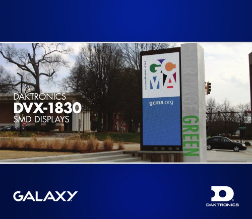Daktronics DVX-1830 SMD Displays