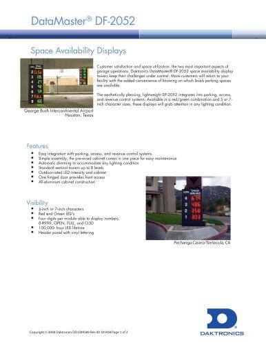 DataMaster® DF-2052