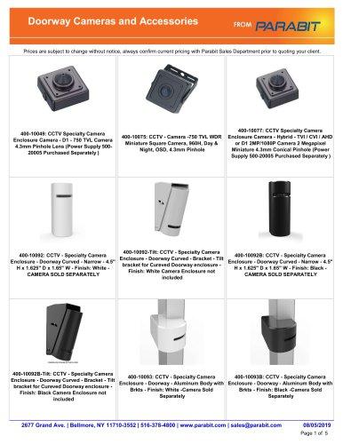 Doorway Cameras and Accessories