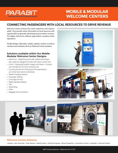 Mobile and Modular Welcome Centers