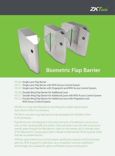 Biometric Flap Barrier