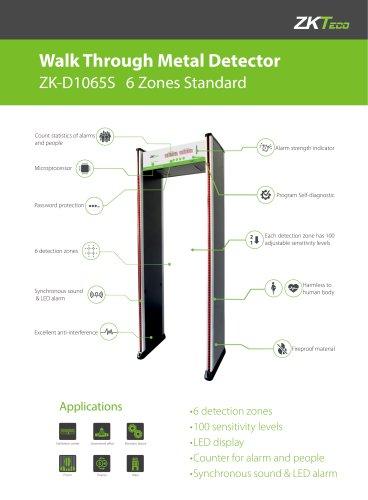 Walk Through Metal Detector ZK-D1065S