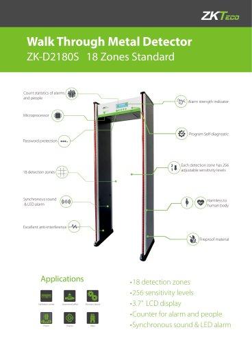 Walk Through Metal Detector ZK-D2180S