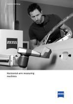 Horizontal-arm measuring machines