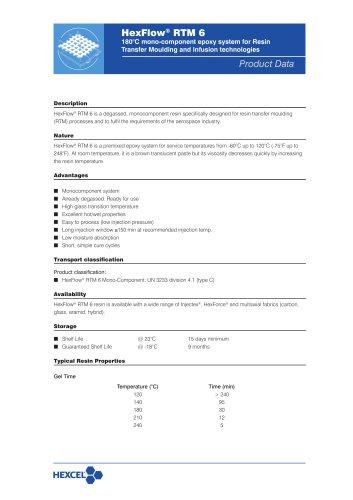 HexFlow® RTM 6