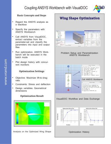 VisualDOC ANSYS Coupling