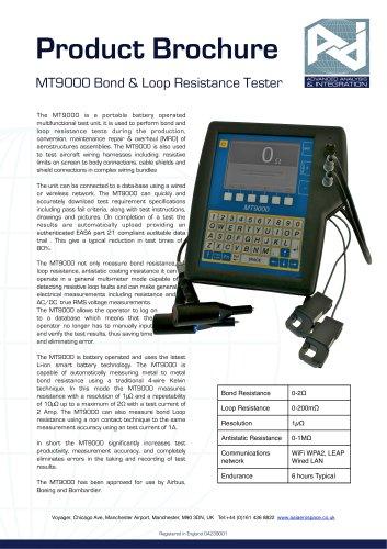 MT9000 Bond & Loop Resistance Tester