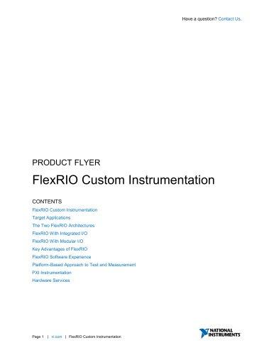 FlexRIO Custom Instrumentation
