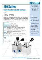 180 Series Rotary Shear Directional Control Valve