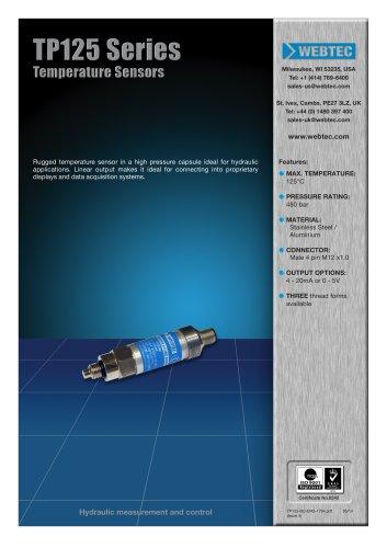 TP125 Series Temperature Sensors