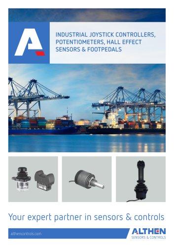 Industrial Joystick Controllers & HMI Products