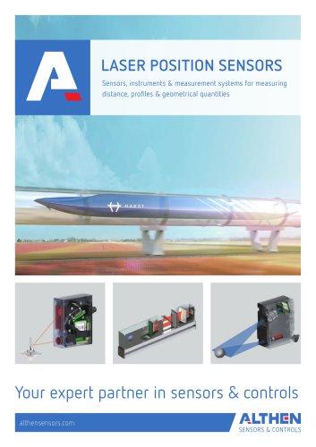 Laser Position Sensors and 2D/3D Laser Scanners