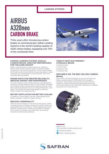 AIRBUS A320neo CARBON BRAKE