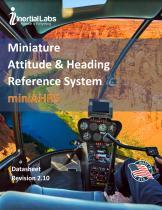 miniAHRS — Miniature Attitude & Heading Reference System